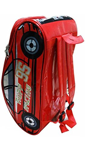 A K Creation Waterproof Polyester Car Backpack for Kids- (Red)