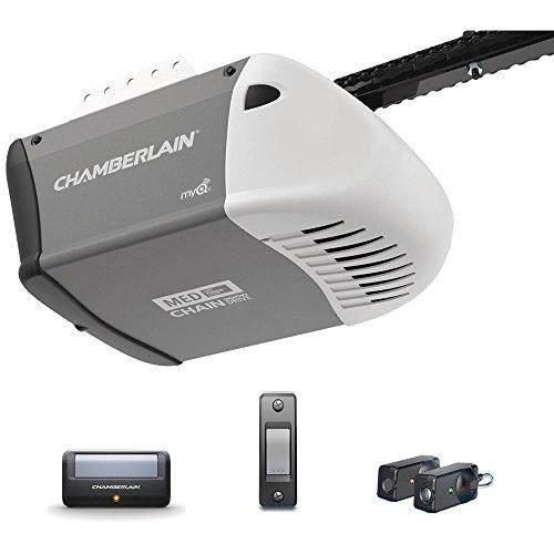 Chamberlain 1/2 HP Heavy-Duty Chain Drive Garage Door Opener with MED Lifting Power