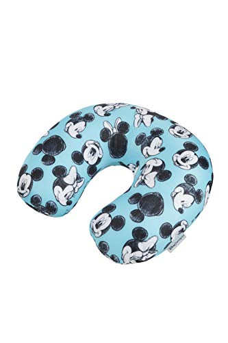 Samsonite Global Travel Accessories Disney Microbead Cuscino da Viaggio, 32 cm, Blu (Mickey/Minnie Blue)