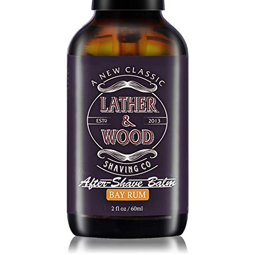Lather & Wood Aftershave Balm - Bay Rum