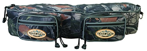Weaver Leather Trail Gear Cantle Bag, Camouflage