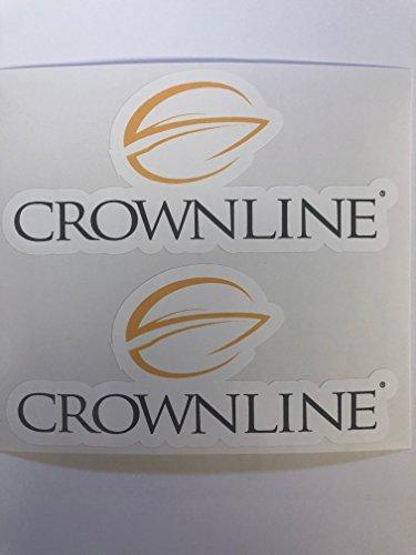 2 Crownline Boats Decals