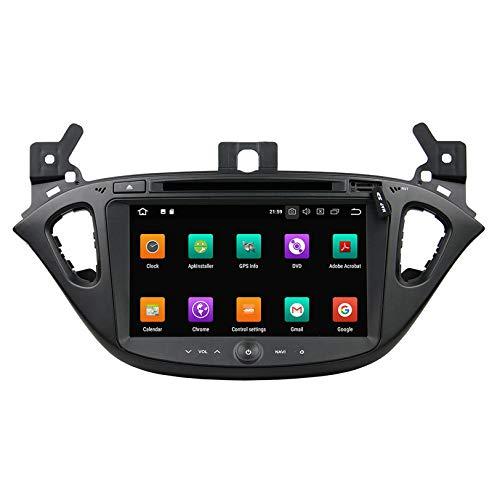 WHL.HH para Opel Corsa 2015 2016 Androide Auto Radio Audio Multimedia GPS Navegación Estéreo automático Multimedia Jugador Espejo Enlace Direccion Rueda Control Bluetooth