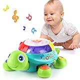 Musical Turtle Toy, English Spanish Learning,...