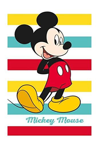 Theonoi Toalla de mano para niños, toalla de invitados, toalla de cara, algodón, Mickey – Disney, regalo ideal para niñas y niños