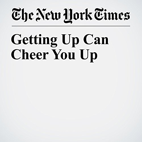 Getting Up Can Cheer You Up copertina