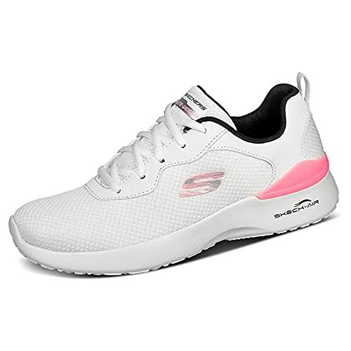 Skechers Sport Womens Skech-AIR Dynamight Radiant Choice Sneakers Damen Weiss, Schuhgröße:39 EU