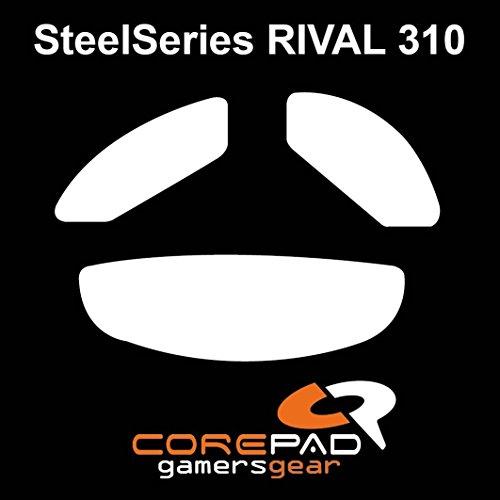 Corepad Skatez PRO 117 Ersatz Mausfüße Replacement Mouse Feet SteelSeries Rival 310