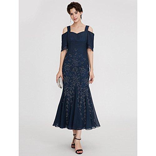 kekafu Mantel/Spalte eine Schulter Schatz bodenlangen Chiffon Pailletten Prom Kleid mit Perlen von TS, Limonengrün, US 12 / UK 16 / EU 42