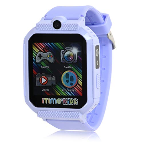 iTIME Kids Touchscreen Interactive Body Temperature Smart Watch with 26 Games (Model: ITK2004AZ)