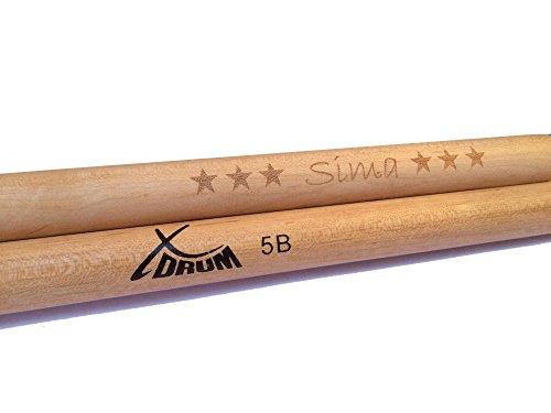XDrum Drumsticks inklusive Wunschgravur (5B)