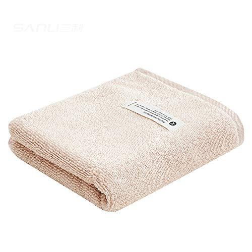 CMZ Toallas de algodón Simples 32 hebras de Toallas de Lavado Lisas para Adultos, Toallas diarias en Colores Puros (35x73 cm)