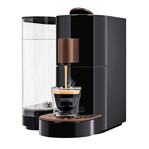 K-Fee Twins II Verismo Compatible Single Serve Coffee/Espresso Machine (Black/Copper)