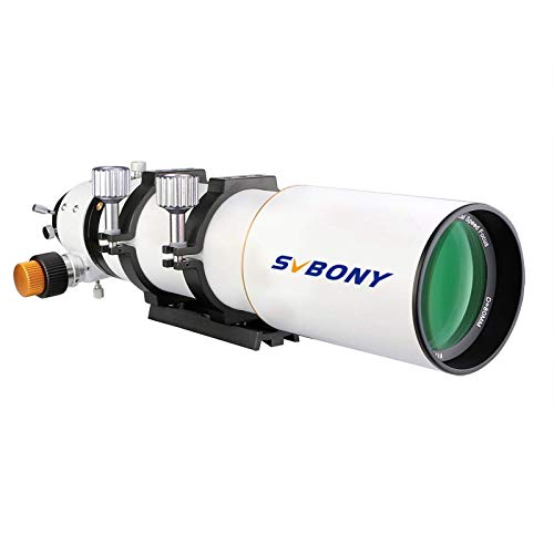 SVBONY SV503 Telescope 80ED F7 Telescope OTA Focal Length 560mm for Exceptional Viewing and Astrophotography