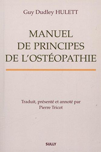 Manuel de principes de l'ostéopathie