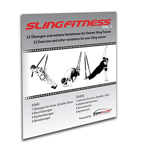 Variosling DVD Slingfitness - Anleitungen mit effektiven ganzkörper Übungen für das Schlingentraining. Suspension Training, Trainings-DVD. Sling Trainer DVD Vol.1