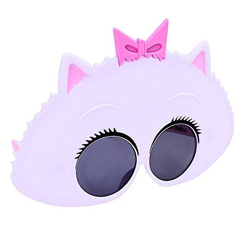 Sunstaches Secret Life of Pets Gidget Sunglasses, Party Favors, UV400