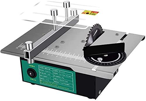 HTDHS Mini Sierra de Mesa multifunción, Sierra de Mesa eléctrica, Mini máquina...