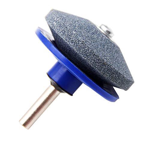 1 PCS Rasenmäher-Schärfer Rasenmäher-Schärfer für Power-Handbohrer 1St. Für Power-Handbohrmesser Messerschärfstein Schleifstein