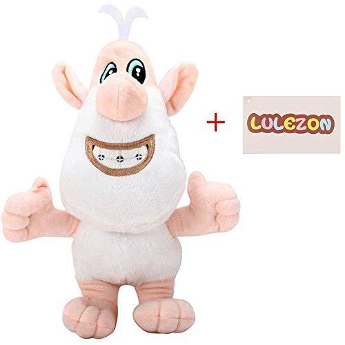 LuLezon Cartone Animato Russo Maiale Bianco Booba Buba Giocattoli di Peluche Peluche ripiene Bambola 35 cm