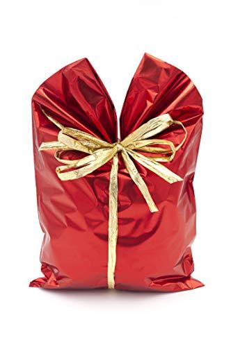 Italpak Buste Metallizzate Soft 50 pz, Colore Rosso, 15x25cm, X204002152500
