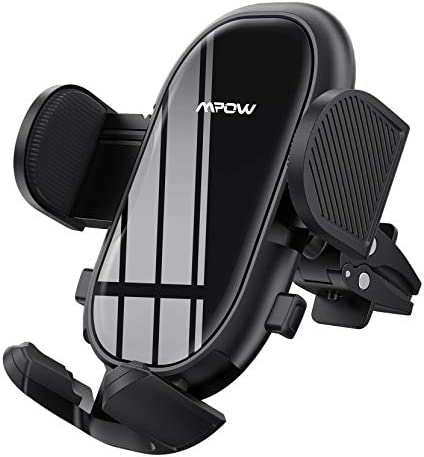 Car Phone Mount Mpow Air Vent Phone Holder with Stable Clip and Dual Release Button Adjustable product image