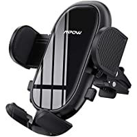 Mpow Car Phone Mount with Stable Clip and Dual Release Button
