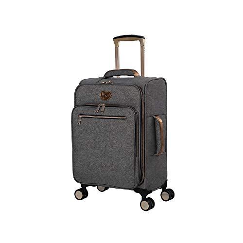 """it Girl Women's Carry-On (22""""), Grey Shiny Gold"""