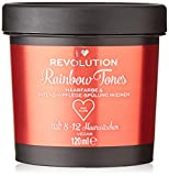 I Heart Revolution Rainbow Tones Red Flame – Tinte para el cabello semi permanente y acondicionador en uno – lavable con 8-12 lavados – vegano, reutilizable – 120 ml