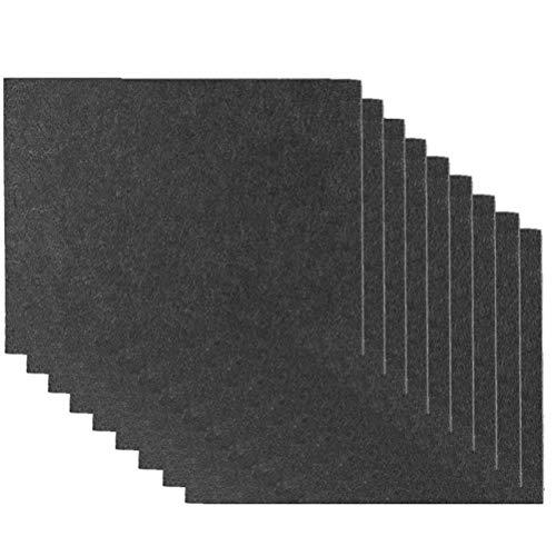 Surenhap 9 cuscinetti in feltro per tavolo e sedie, autoadesivi, protezione per il pavimento, in feltro, ammortizzatori Mute Mat