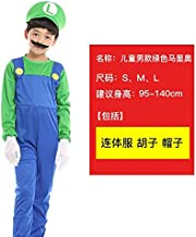 WSJDE Halloween Cosplay Super Mario Bros Disfraz para sfunny Party ...