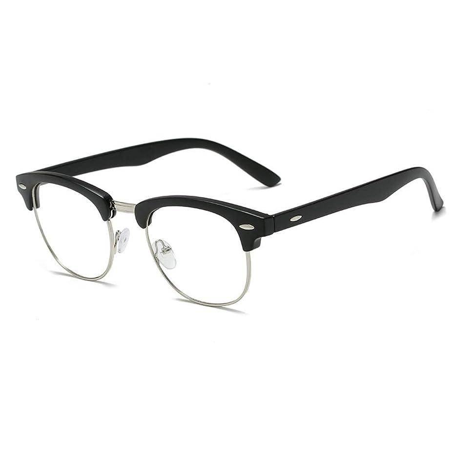 Bdfjhoiugk Blue Light Blocking Glasses UV400 Transparent Lens Safety Glasses for Computer/Phone [Anti-Eyes Detection] Vintage, Unisex (Men/Women) (Color: A) (Color : A, Size : -)