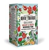 Heath & Heather Infusión orgánica de manzana, hibisco, guaraná y ginseng - 1 x 20 bolsitas de té (40 gramos)