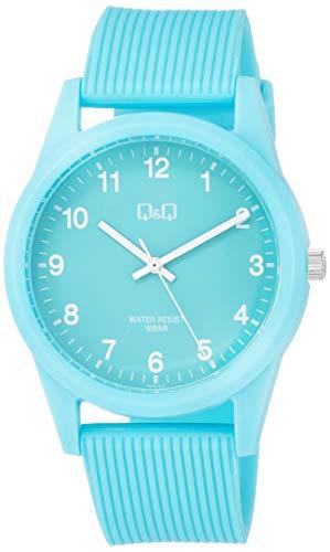[シチズン Q&Q] 腕時計 アナログ 防水 ウレタンベルト VS40-010 レディース ミントグリーン