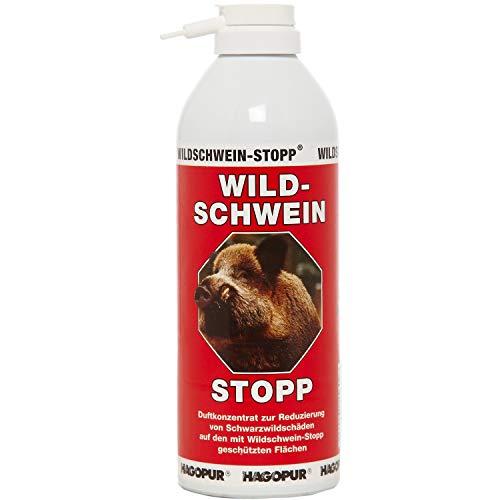 Hagopur Wildschwein-Stopp Juguete de Parada, Unisex Adulto, Rojo, 400 ml