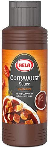 Hela Curry Wurst Sauce, 329 g