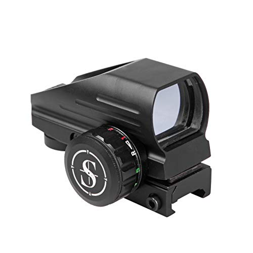 Sniper RD22LR Holographic Reflex Sight with 4 Reticles Red and Green Dot with Red Laser