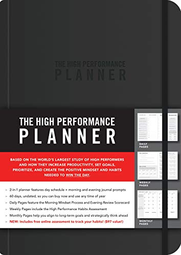 Best high performance planner