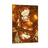 DRAGON VINES Póster de anime Shinra Kusakabe de la Fuerza de Fuego Demonio Héroe Shinra Kusakabe para pared de 60 x 90 cm