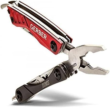 Gerber 30-000469 Dime Mini Multi-Tool, Black
