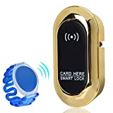 Cerradura de inducción electrónica, Cerradura antirrobo inteligente, Cerradura de sensor de gabinete para el club de salón de gimnasio en casa
