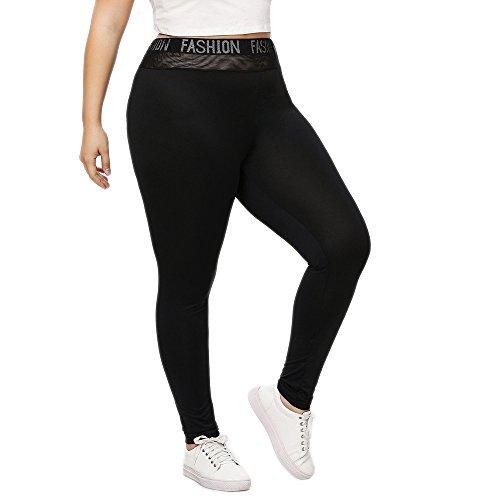 Sport Leggings Damen Sporthose Fitnesshose Yoga Leggings Sporthosen Mode Oversize Damen Brief Leggings Hosen Yoga Sport Loch...