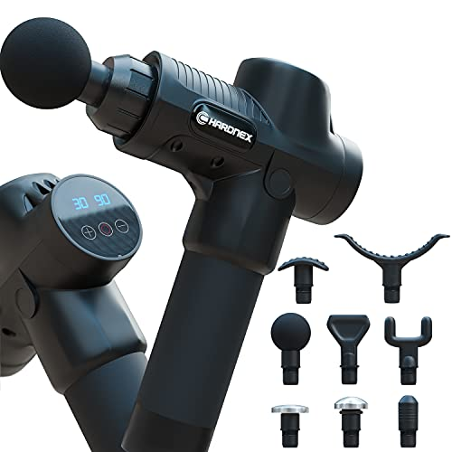 Deep Tissue Percussion Massager- Muscle Massage Gun for Athletes- Portable Handheld Electric...