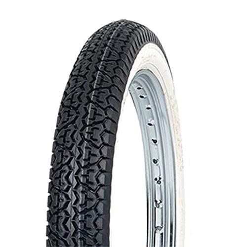 MITAS - 48351 : Neumático B4 - 18'' 2.25-18 Reforzado 42J Tt Banda Blanca