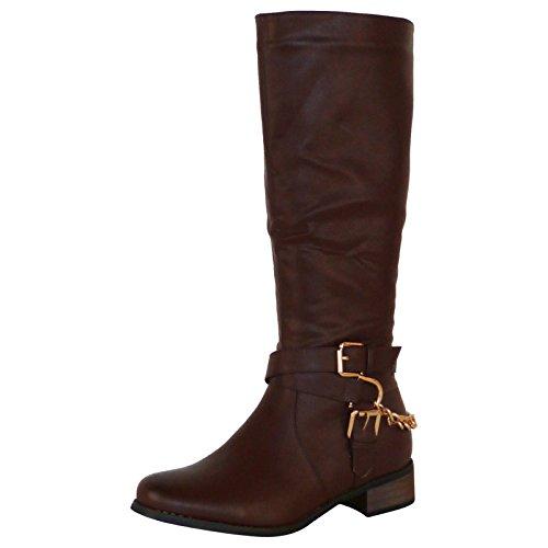 chix - Botas para Mujer marrón marrón