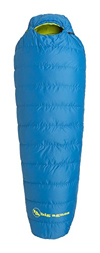 Big Agnes Sandhoffer 20 Lightweight DownTek Sleeping Bag, Blue, Regular Left