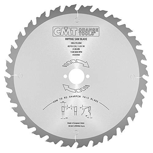 CMT Orange Tools 290,270,28 m scie circulaire 270 x 30 x 2,8 z 28 VTT 20 degrés