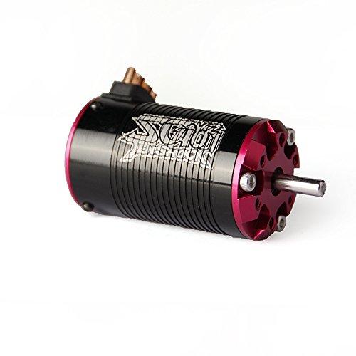Price comparison product image TENSHOCK SC401V2 Brushless Sensorless 4-Pole 1 / 10 Short Course Motor - 4400KV