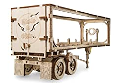 The Heavy Boy Truck from Ugears is an interesting and exciting model on its own. But don't you have a feeling that a truck unit might use something to actually pull? To complete your long haul freight traffic experience we would like to draw your att...