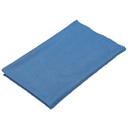 Microfibre Actex/Vikan spéciale nettoyage des vitres et fenêtres - Bleu